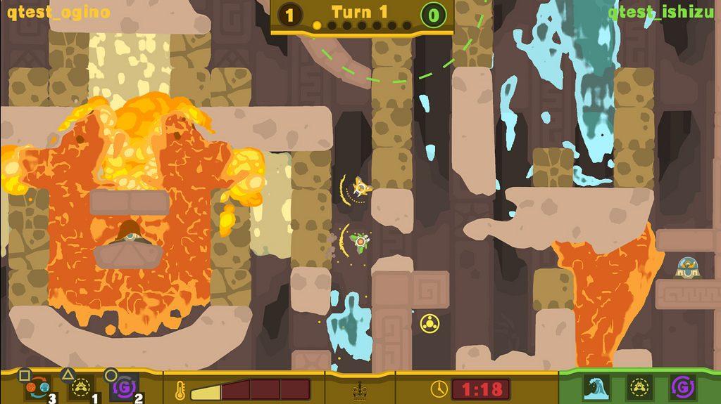 Aprenda a Batalhar Online em PixelJunk Shooter 2