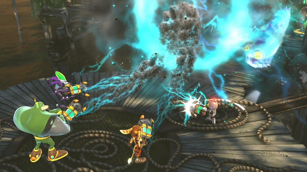 Ratchet & Clank: All 4 One – Escolha as Suas Armas