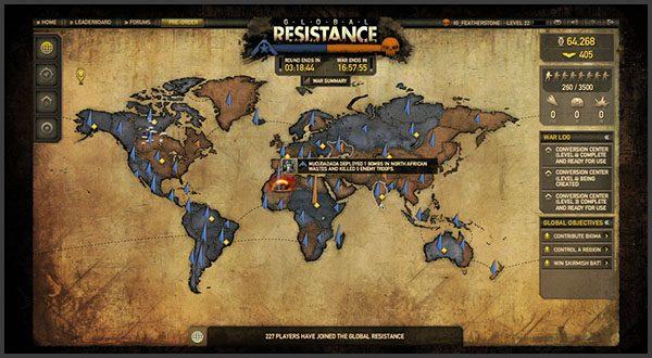 Global Resistance: Estratégias e Integração com Resistance 3