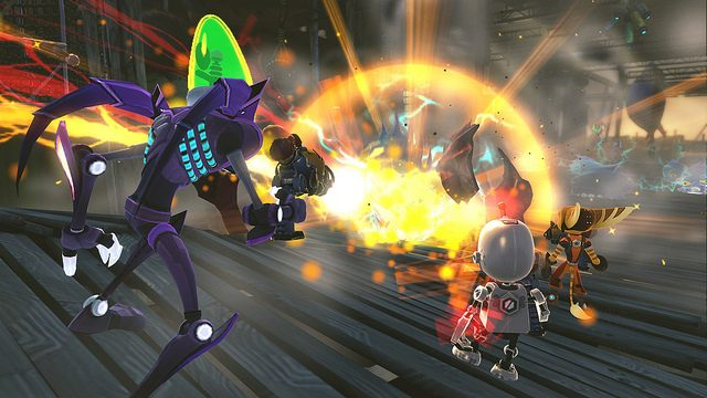 Ratchet & Clank: All 4 One – Aumente Seu Arsenal