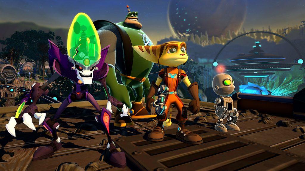 Ratchet & Clank: All 4 One: Trailer da gamescom