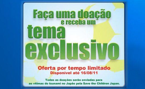 Ajude as Vítimas do Tsunami no Japão pela PSN