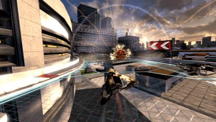 Entrevista de WipEout 2048 para PS Vita, Direto da gamescom