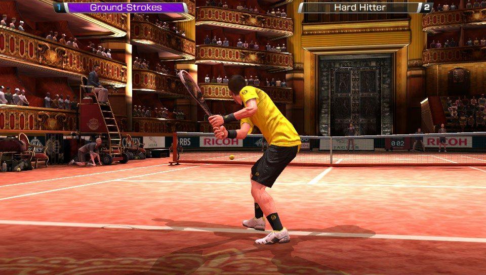Virtua Tennis 4 Chega ao PS Vita com Características Exclusivas
