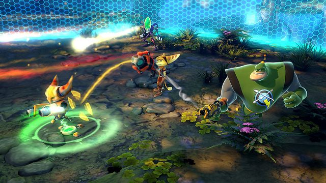 As Armas Especiais de Ratchet & Clank: All 4 One