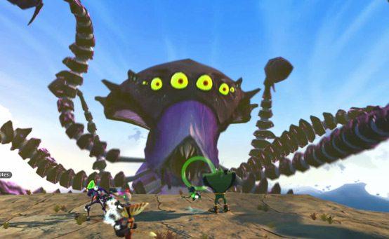 Ratchet & Clank: All 4 One: Enfrente o Octomoth!