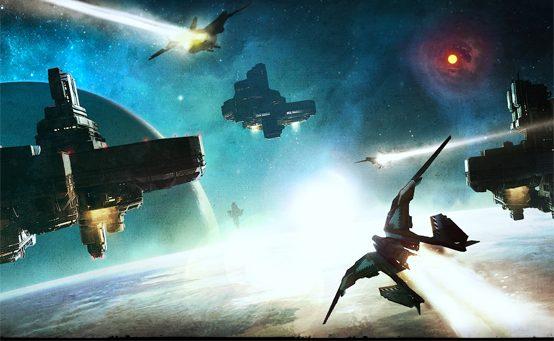 Starhawk: Trailer Space Combat