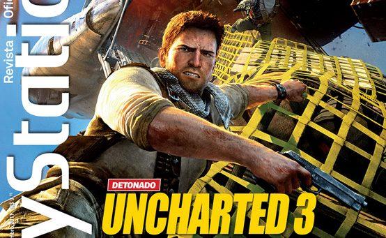 Nathan Drake na Capa da PlayStation: Revista Oficial – Brasil