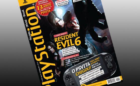 PS Vita e RE6 São os Destaques da Nova Edição da PlayStation: Revista Oficial BR