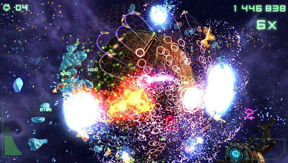 Super Stardust Delta para PS Vita: DLC e Novas Imagens