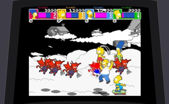 The Simpsons: Arcade Game Chega Amanhã à PS Store BR