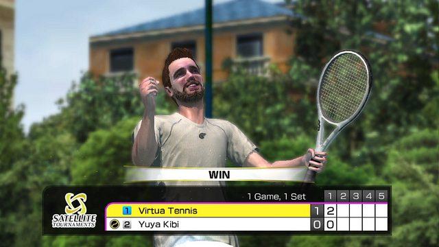 Usando as Câmeras do PS Vita em Virtua Tennis 4