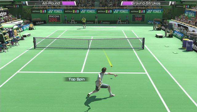 Conheça os Controles de Toque de Virtua Tennis 4: World Tour para PS Vita