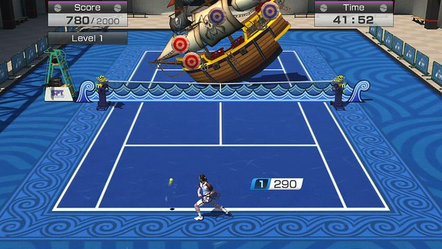 Controles de Movimento de Virtua Tennis 4: World Tour para PS Vita