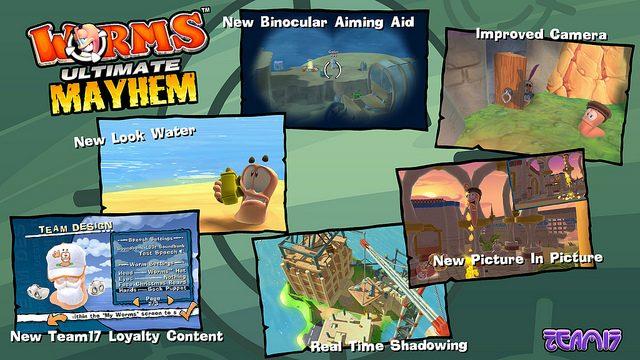 Worms Ultimate Mayhem Vai Destruir a PSN no Dia 14 de Fevereiro