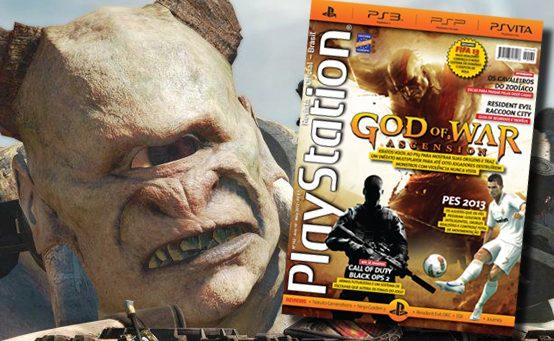 God of War: Ascension é o Destaque da Edição de Maio da PlayStation: Revista Oficial