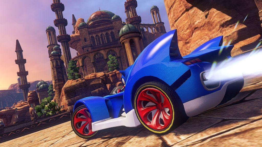 Sonic & All-Stars Racing Transformed Chegando Para PS3 e PS Vita