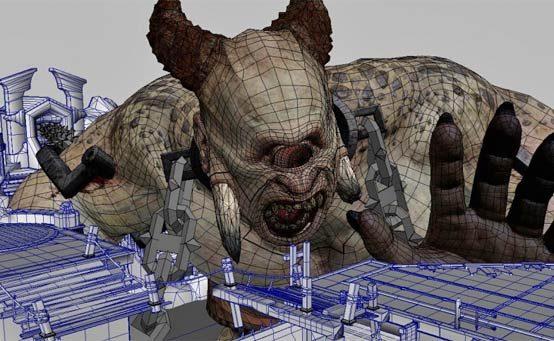 Monstros de God of War: Ascension – Polifemo