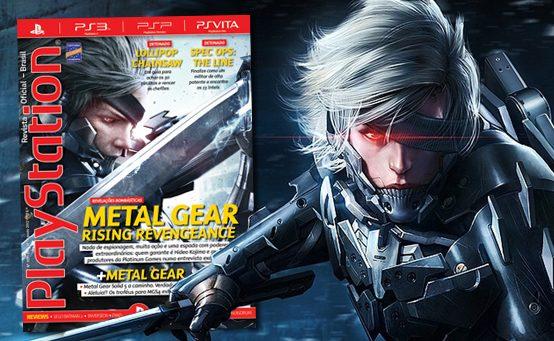 Metal Gear Rising é Destaque na Edição de Agosto da PlayStation: Revista Oficial