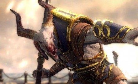 Monstros de God of War: Ascension – O Capitão Sátiro