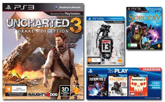 Sony Brasil Anuncia Redução no Preço de Jogos para PS3 e PS Vita