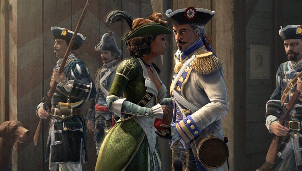 Aveline, a Camaleoa: As Personas de Assassin's Creed III: Liberation
