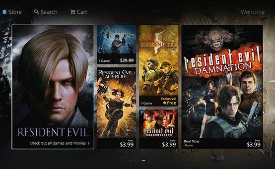 Veja Uma Prévia da Nova PlayStation Store