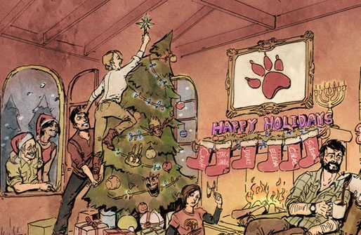 Boas Festas da Naughty Dog