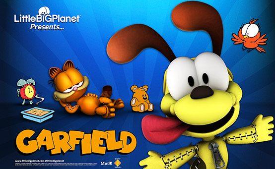 Sack-Novidades: Garfield Chega a LittleBigPlanet