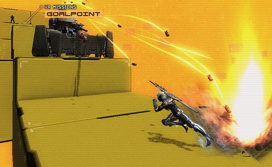 Metal Gear Rising Tem Missões VR Exclusivas no PlayStation 3