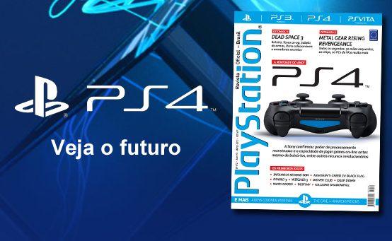PlayStation: Revista Oficial #172 – Tudo Sobre o PS4