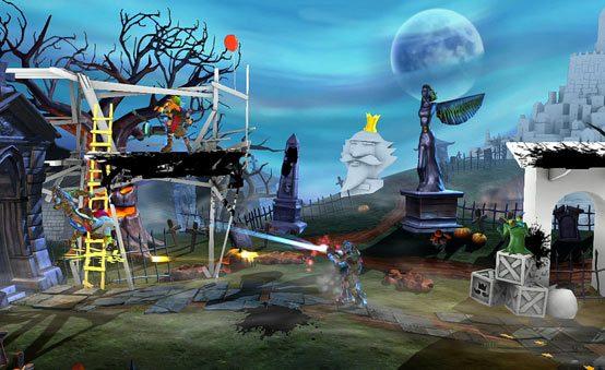 Zeus e Isaac Estreiam Hoje em PlayStation All-Stars Battle Royale
