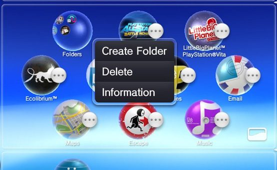Atualização do Software de Sistema do PS Vita (v2.10)