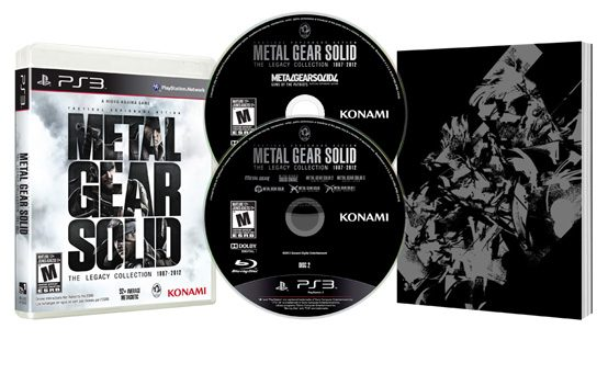 Metal Gear Solid: The Legacy Collection Chega ao PS3 em 09/07