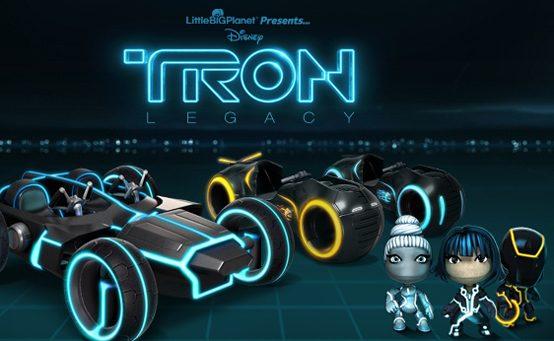 Sack-Novidades: Tron Acelera em LittleBigPlanet Karting Amanhã
