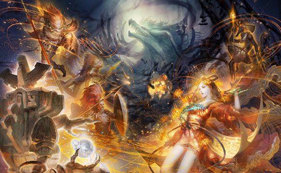 Destiny of Spirits para PS Vita: O Mundo Unido na Batalha