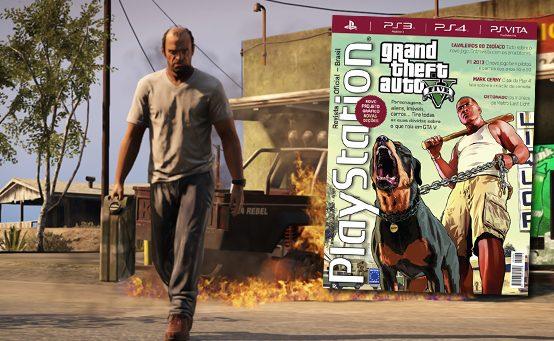 PlayStation: Revista Oficial #179 – Visual Reformulado e Novidades de GTA V