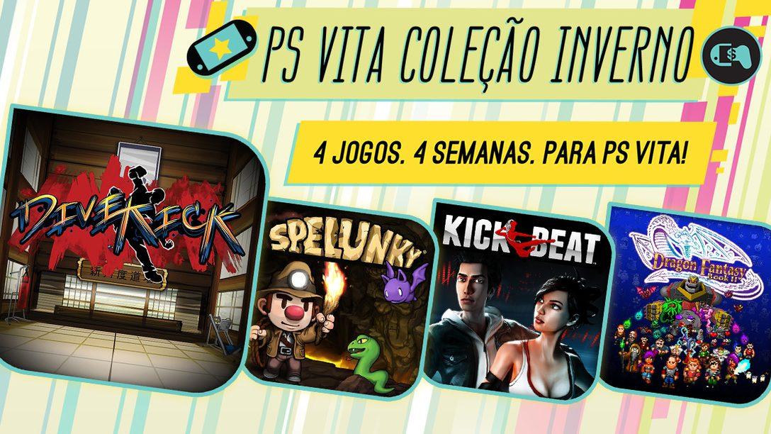 Coleção de Inverno PS Vita: Quatro Novos Jogos Indie a Caminho da PlayStation Store