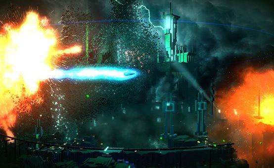 Gamescom 2013: Conheça RESOGUN, Novo Jogo dos Criadores de Super Stardust para PS4