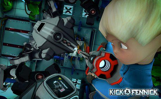 Gamescom 2013: Kick & Fennick Estreia no PS Vita no Início de 2014