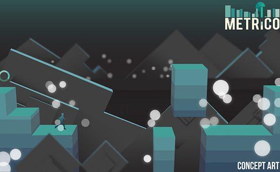 Metrico para PS Vita: Infográficos e Cenários Mutantes