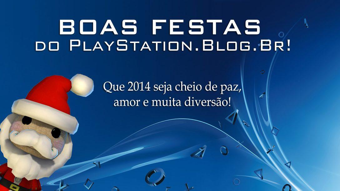 BOAS FESTAS E FELIZ 2014!