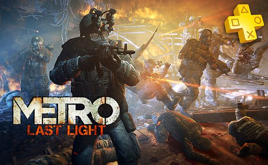 PlayStation Plus: Outlast e Metro: Last Light de graça para assinantes