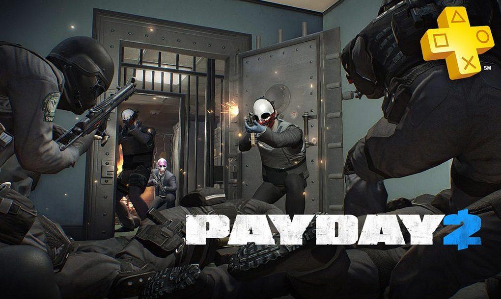 PlayStation Plus: PayDay 2 grátis para assinantes
