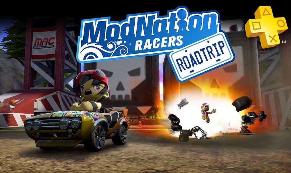PlayStation Plus: ModNation Racers: Road Trip gratuito para os membros