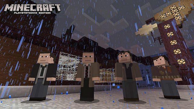 Última atualização de Minecraft para PS3 tem skins de Uncharted, Killzone, Heavy Rain