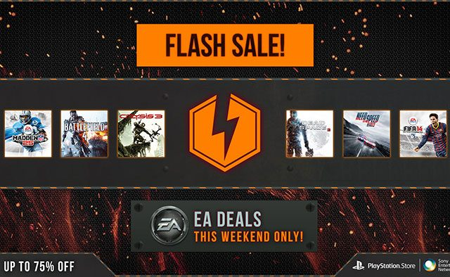 Oferta Relâmpago EA na PlayStation Store começa agora!