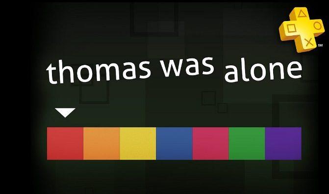 Thomas Was Alone & Unit 13 de graça para membros da PlayStation Plus