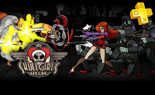 Skullgirls Encore de graça para membros da PS Plus