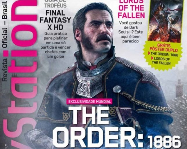 PlayStation: Revista Oficial #191 – Especial sobre The Order: 1886 e guia da Copa do Mundo da FIFA Brasil 2014